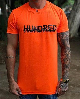 Camiseta Longline Orange Neon - Hundred Limit