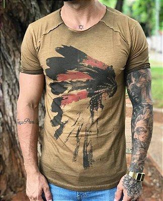 Camiseta Longline Índio - Masterdom