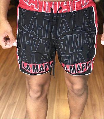 Shorts Beach Red&Black - La Mafia