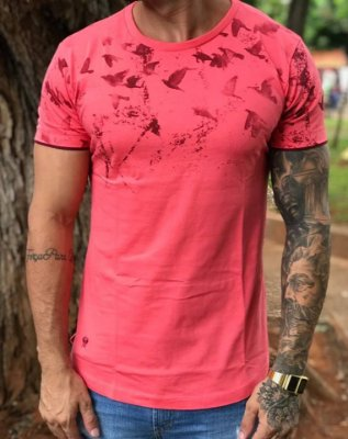 Camiseta Longline Birds - Masterdom