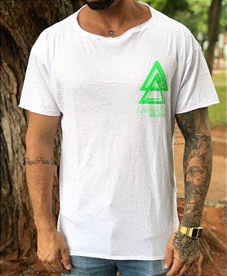 Camiseta Oversized Solid Soul White - La Mafia