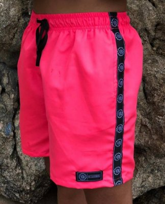 Shorts Beach Neon Pink - Fb Clothing
