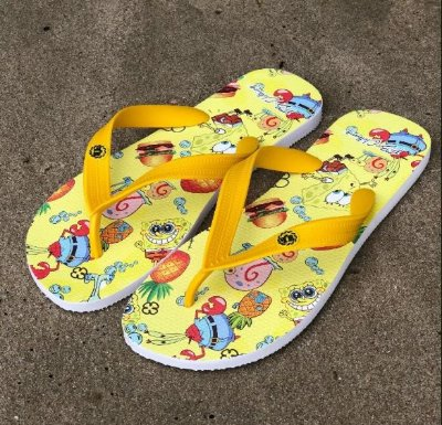 Chinelo Bob Sponja - FB Exclusive Clothing