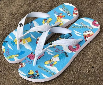 Chinelo The Simpsons - Fb Clothing