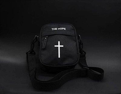 Shoulder Bag Cross Black - The Hope