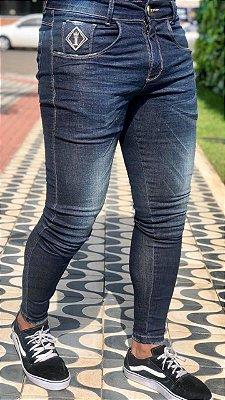 Calça Jeans Skinny Basic Dark - Codi Jeans