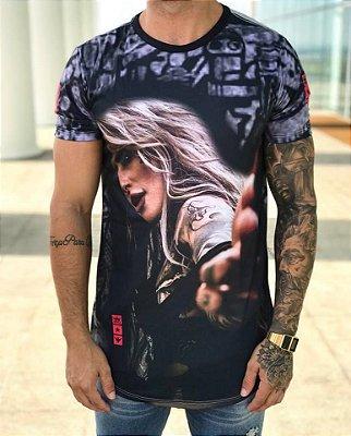 Camiseta Longline Loira Tatto - Evoque
