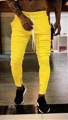 Calça Moletinho Yellow - Lacapa