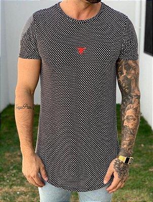 Camiseta Longline Poá Dif - Totanka