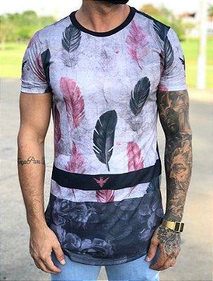 Camiseta Longline Penas - Evoque