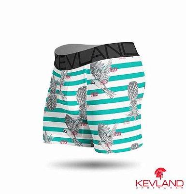 Cueca Boxer Kevland Arara Listrada