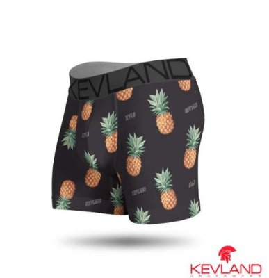 CUECA BOXER ABACAXI TROPICAL - KEVLAND