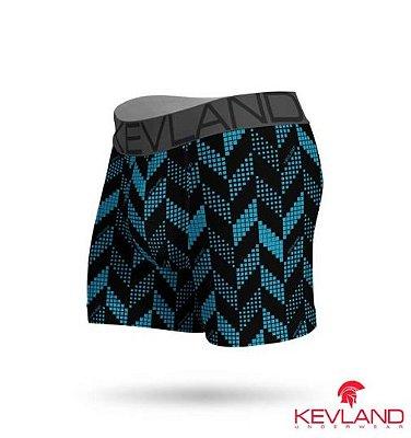 Cueca Boxer Blue Crew - Kevland