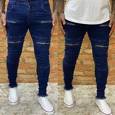 Calça Jeans Skinny Matelassê OneWash - Degrant