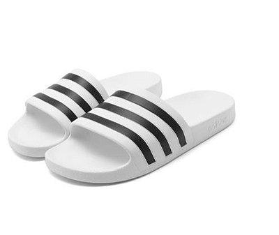 Chinelo Slide Adilette Aqua U White - Adidas