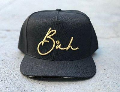 Boné Snapback Black&Gold - Buh