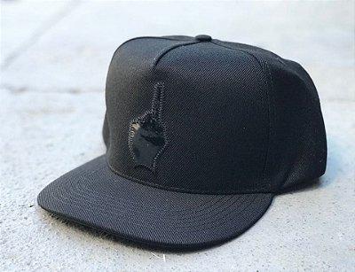 Boné Snapback Basic Logo Black - Buh