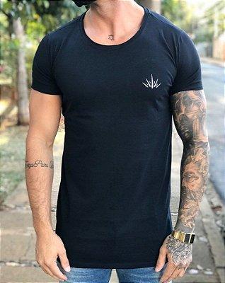 Camiseta Longline Roses - Crown