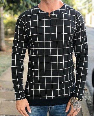 Camisa Quadrados - Exalt Urban