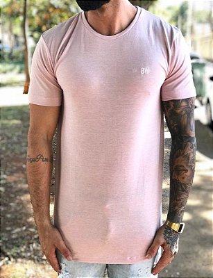 Camiseta Longline Fortiori Rosa - Black West