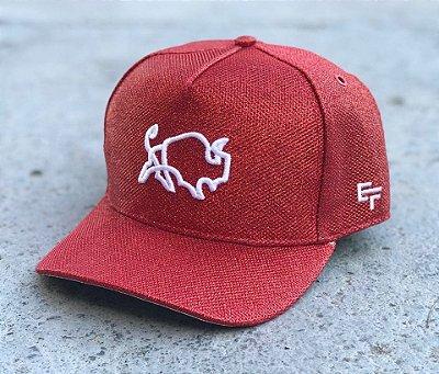 Boné Snapback Glitter Red - Effel