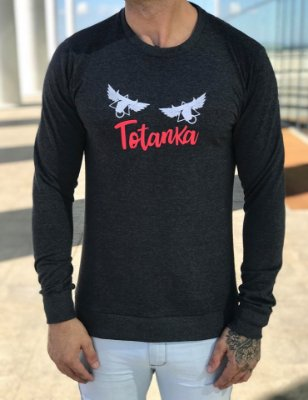 Moletom TTK Wings Grey - Totanka
