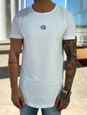 Camiseta Longline Words Off White - FB Exclusive Clothing