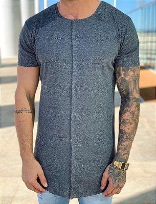 Camiseta Longline Invisible Grey - Totanka