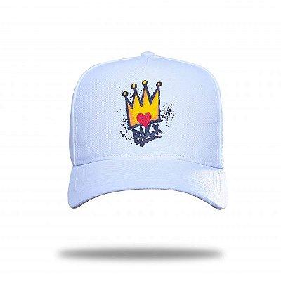 Boné Snapback King White - BLCK