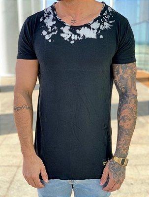 Camiseta Longline Asas Pedraria - John Jones