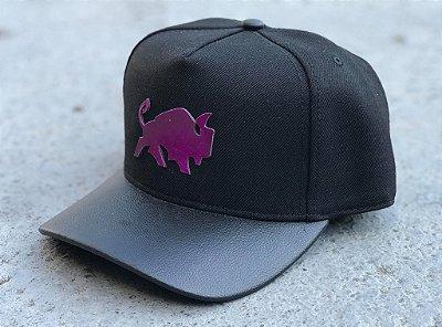 Boné Snapback Logo Purple - Effel Culture