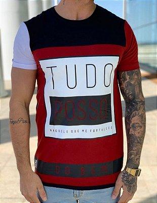 T-Shirt TUDO POSSO - King Joy