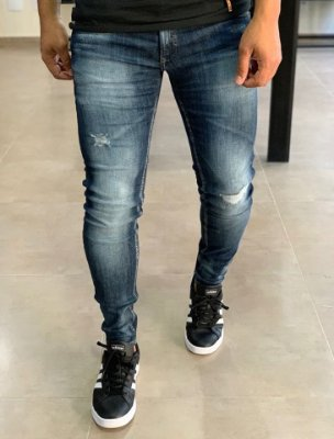 Calça Jeans Skinny Desf Used - Zip Off