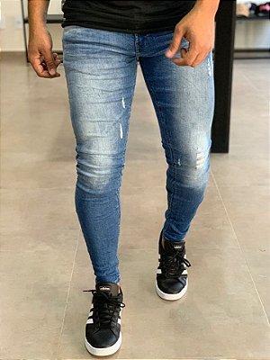 Calça Jeans Skinny Hiper - Zip Off