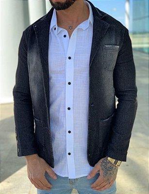 Blazer Jeans Básic Black - Exalt Urban