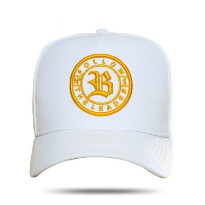 Boné Snapback Follow Race White - BLCK