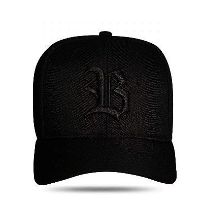 Boné Snapback Basic Black - BLCK