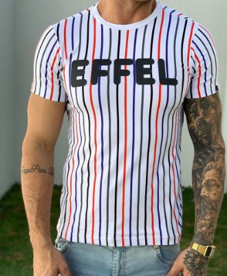 T-Shirt Colored Lines 1 - Effel Culture