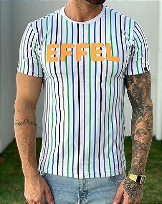 T-Shirt Colored Lines 2 - Effel Culture