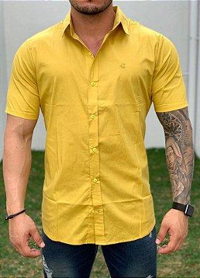 Camisa Manga Curta Mustard - Exalt Urban