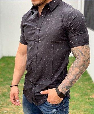 Camisa Manga Curta Black Botonê - Exalt Urban