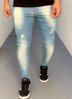 Calça Jeans Skinny Desf Dirty Kabira - City Denim