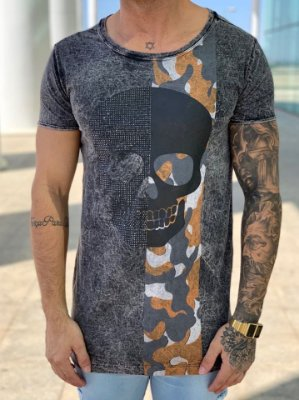 T-Shirt Long Metade Militar - John Jones