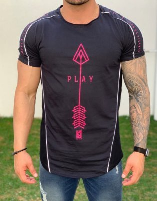 Camiseta Longline Play  - King Joy