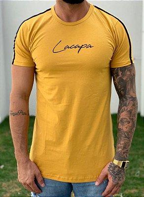 Camiseta Longline Basic Mostarda - Lacapa
