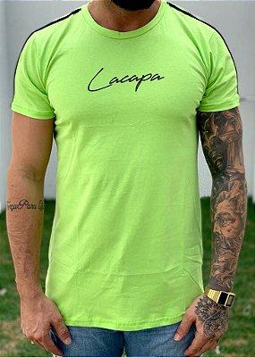 Camiseta Longline Basic Green - Lacapa