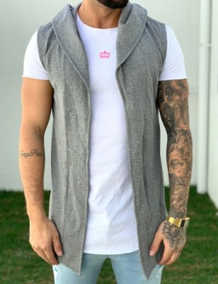 Colete Grey Dark - Kawipii