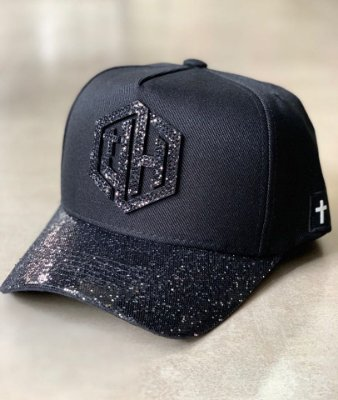 Boné Snapback Black Shine - Just Heaven