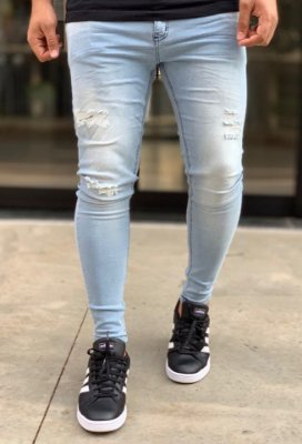 Calça Jeans Skinny Clear Desf Matsue - Creed Jeans