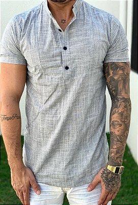 Camisa Manga Curta Grey - Exalt Urban